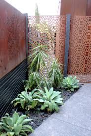 Gartengestaltung Mit Steinen Und Grsern Modern Cortenstahl Sichtschutz Für Garten 30 Ideen Und Beispiele