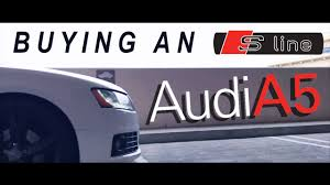 buying an audi a5 s line coupe debarrtv youtube