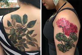 six artists who draw gorgeous botanical tattoos the new york times