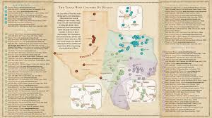 Oregon Ava Map by Texas Wine Country Map Texas Has Eight Officially Recognized