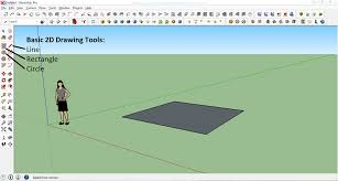 How To Draw A Picnic Table How To Create Your First 3d Model In Sketchup A Beginner Friendly