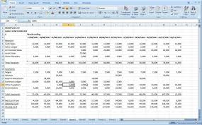 12 Month Profit And Loss Projection Excel Template Preparing A Flow Forecast Part 2