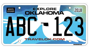 you are special plates how to get a personalized oklahoma license plate