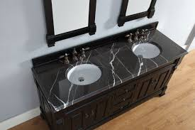 Bathroom Vanity Bases by Abstron 72 Inch Antique Black Double Bathroom Vanity Optional