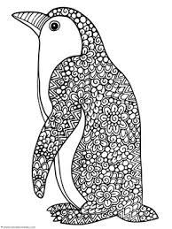penguin doodle coloring pages doodle coloring penguins doodles