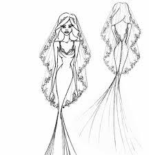 jennifer aniston u0027s wedding dress hayley paige fantasy sketch brides