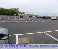 Southampton Port Car Parking Lyme Regis Seafront Geology By Ian West