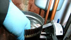gas boiler no heat call bad vent damper youtube