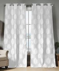 White Darkening Curtains Black And White Patterned Blackout Curtains Gopelling Net