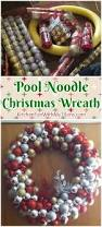 Pool Noodle Decorations Pool Noodle Christmas Wreath Kitchen Fun With My 3 Sons