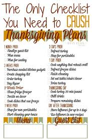 the only checklist you need to crush thanksgiving planning busy