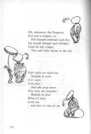 the emperor u0027s rhyme a singable poem by a a milne set to music