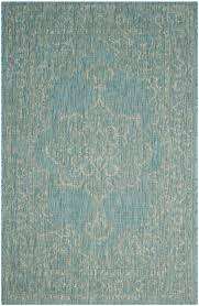 How To Clean Indoor Outdoor Rugs by Turquoise Indoor Outdoor Rug Easy Clean Rugs Safavieh