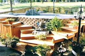 Deck Garden Ideas Small Deck Garden Small Deck Ideas On A Budget Best Images Gallery