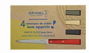 set of 4 table knives n 125 bon appetit loft la boutique du musée
