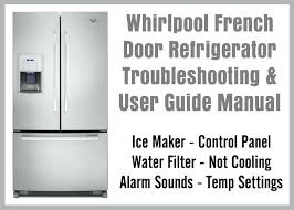 refrigerator red light whirlpool gold refrigerator whirlpool french door refrigerator