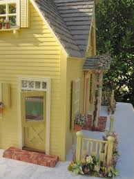 dollhouses by robin carey the clematis cottage dollhouse