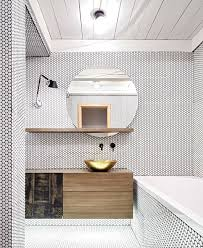 all tile bathroom bathroom flooring white penny tiles with black grout all over the