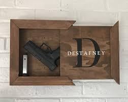 hidden gun storage etsy