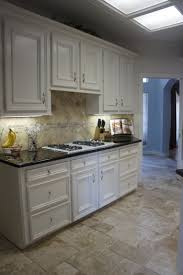 Travertine Kitchen Floor by Travertine Tile Color Tiramisu Flooring And Backsplash For Kitchen
