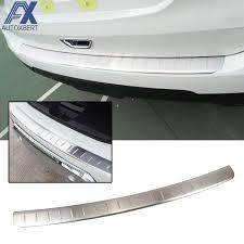 ax rear bumper protector deck panel trim cover for nissan rogue x