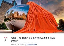 Chicago Memes Facebook - anish kapoor s bean will be windexed baked by guy fieri turned