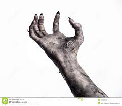 halloween white background black hand of death the walking dead zombie theme halloween