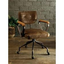 Antique Leather Swivel Chair Desk Chair Vintage Desk Chair Swivel Office Chairs Articles With