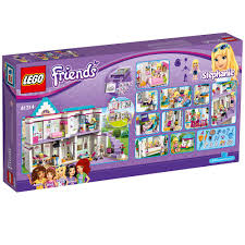 lego friends stephanie u0027s house 41314 toy for 6 12 year olds