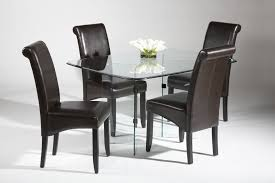 Wrought Iron Kitchen Tables by Furniture Modern Pc Wrought Iron Metal Dining Table Set Glass