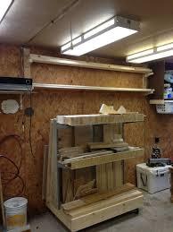 Mobile Wood Storage Rack Plans by 22 Best Lumber Cart Images On Pinterest Lumber Storage Workshop