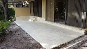 Patio Tile Flooring by Concrete Patio And Tiles For Louis B In Boca Raton