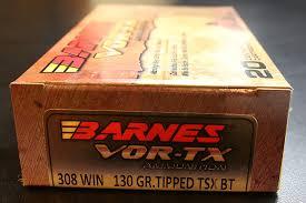 Barnes Vor Tx Initial Impression New Barnes Bullets 130 Grain Ttsx Vor Tx Ammo
