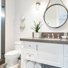 white cabinet bathroom ideas white and gray bathrooms design ideas