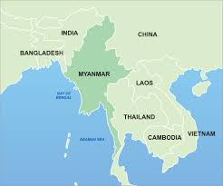 Asia On Map by Tainted Not The Grand Transition We Would Hope Awake And Witness