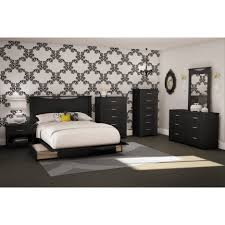 Platform Bed Frames With Storage Bed Frames Full Size Storage Bed With Bookcase Headboard King