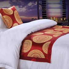 online buy wholesale hotel bed scarf from china hotel bed scarf