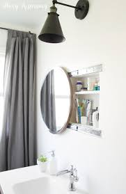 round sliding bathroom mirror stacy risenmay