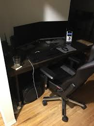Under The Desk Foot Rest by My 2016 Battle Station Desk And Pc Info Inside First Pic Album