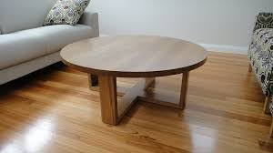 small round oak coffee table oak side tables for living room with side tab 13805 asnierois info