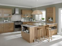 Light Oak Kitchen Cabinets Light Oak Kitchen Home Supply Outlet Pertaining To Cabinets