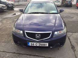 used honda accord 2004 diesel 2 2 blue for sale in dublin