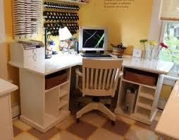 Simple Corner Desk Plans Interesting Diy Corner Desk Ideas Simple Office Design Inspiration