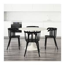 Ikea Ps 2012 Side Table Docksta Ikea Ps 2012 Table And 4 Chairs White Black 105 Cm Ikea
