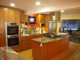 kitchen peninsula or island type kitchen gas double oven kitchen