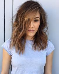 medium length hairstyles front and back with bangs 70 brightest medium length layered haircuts and hairstyles
