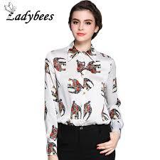 elephant blouse ladybees plus size blouses elephant print shirt sleeve
