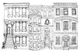 nyc brownstones sketch jpg 1485 971 candyland christmas