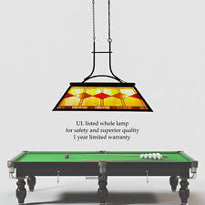 tiffany pool table light tiffany pool table light ebay