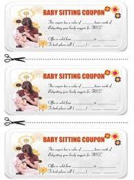 babysitting coupon book template 6 babysitting coupon book